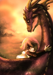 Every girl needs a dragon.